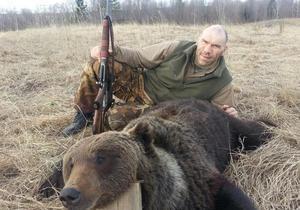 М'ясо і дичину я не купую: Валуєв вбив ведмедя