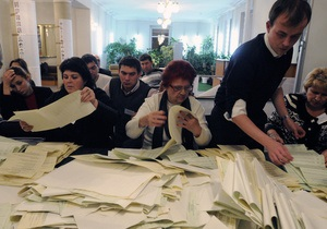Вибори - проблемні округи - США закликають Україну провести вибори у п яти проблемних округах