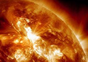 Спалах на Сонці: На Сонці стався потужний спалах