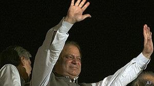 Пакистан: Наваз Шариф заявляє про перемогу на виборах