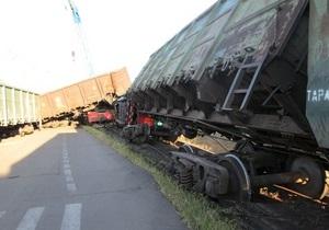 У Миколаївському порту зійшов з рейок тепловоз
