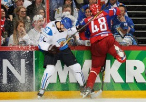 Хокей. Росія програє другий день поспіль на чемпіонаті світу