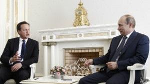 Кемерон і Путін обговорюють у Сочі Сирію