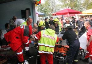 Новини Німеччини - У Німеччині через удар блискавки постраждали більш як 40 людей