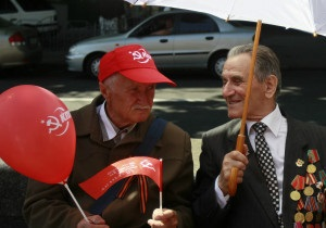 9 травня: радянські ветерани святкують Перемогу