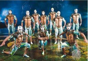 Санкт-Петербург - хода - Cirque du Soleil