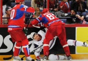 Хокей. Росія обіграла США на Чемпіонаті світу