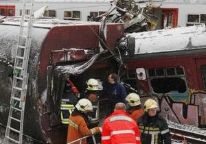 Бельгія - аварія - потяг