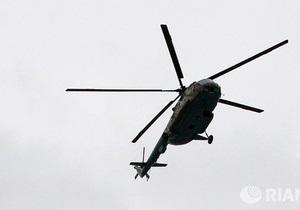 Новини Росії - аварія вертольота Мі-8  - В Іркутській області розбився вертоліт Мі-8 із співробітниками МНС на борту