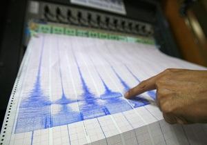 Землетрус - Тихий океан