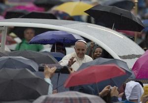 Папа Римський привітав греко-католиків з Великоднем