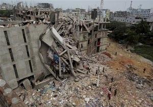 Новини Бангладеш - Дакка - Обвалення будівлі в Бангладеш: кількість загиблих зросла до 580