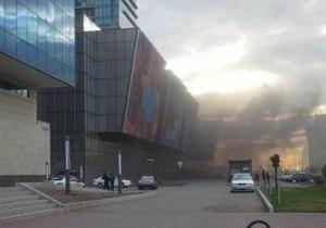 Пожежу в медіа-центрі в Астані локалізували