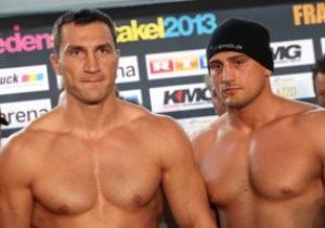 Фотогалерея: Кличко і П янета взяли вагу