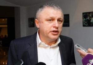 Суркис: Уважаю Ахметова, но желать Металлисту стать вторым - некорректно