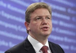 В ЄС закликають українську владу вирішити питання Тимошенко найближчим часом