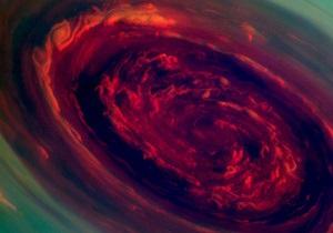 Новини науки - космос - NASA - ураган на Сатурні: Зонд Кассіні зняв потужний ураган у Сонячній системі