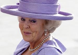 Нідерланди - королева - зречення престолу