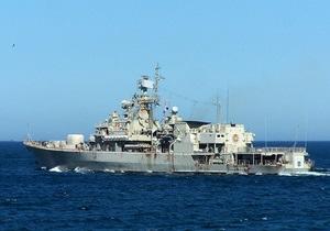 Два українські кораблі візьмуть участь у параді з нагоди Дня Чорноморського флоту Росії