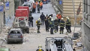 Близько 40 людей постраждали внаслідок вибуху в Празі