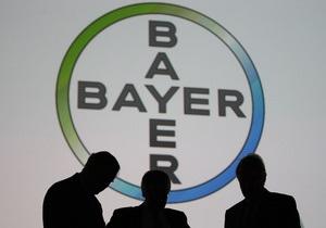 Bayer - Німеччина - хімвиробництво - протизаплідні засоби - продаж - купівля