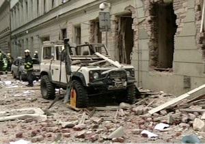 У центрі Праги пролунав потужний вибух