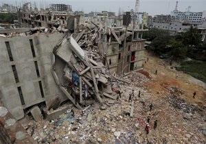 Обвалення будівлі в Бангладеш: кількість жертв перевищила 360 осіб