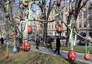 Новини України - Пригоди в Україні - Новини Полтави - святкування Великодня: У Полтаві з явиться писанка висотою більш як 1,5 метра