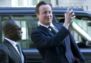 Кемерон не хотів би побачити, як британські війська вирушать до Сирії