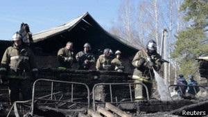 Через пожежу у психіатричній лікарні у Підмосков ї оголошено жалобу