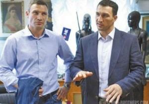 Виталий Кличко: Не дай бог, Володя проиграет Пьянете