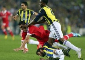 Ліга Європи: Фенербахче здолав Бенфіку в першому півфіналі