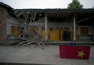 У Китаї чоловік провів під завалами після землетрусу п'ять діб