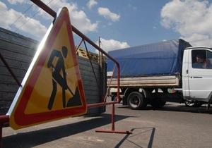 Новини Києва - ДАІ - Варшавська траса - ДАІ обмежила рух транспорту по Варшавці
