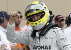 Нико Росберг выиграл квалификацию в Бахрейне