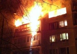 Пожежа в Москві ліквідована, стало відомо про загиблу дитину