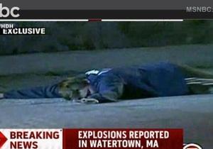 США - Бостон - стрілянина - вибух
