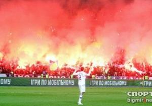Динамо и Шахтер оштрафованы на 350 тысяч гривен за поведение болельщиков