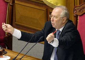Рада - Опозиція заблокувала трибуну, вимагаючи переголосувати низку законів. Рибак закрив Раду