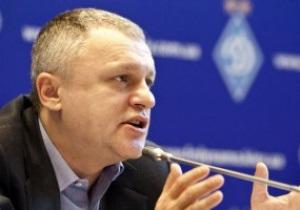 Суркис: Необходимо, чтобы Украина была с Россией равноправным партнером