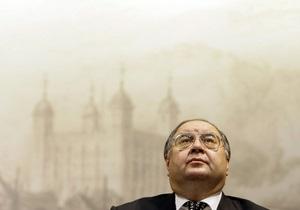 Список найбагатших росіян - Алішер Усманов - Усманов  збіднів , але залишився на вершині
