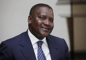 Самый богатый бизнесмен Африки построит в Нигерии нефтеперегонный завод