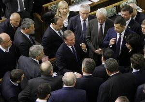 Рада - Партія регіонів - опозиція - Єфремов пояснив, чому більшості не вистачає голосів