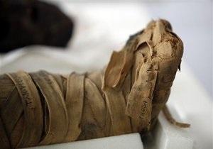 Новини науки - генетика: Біологи збираються прочитати геном єгипетських мумій