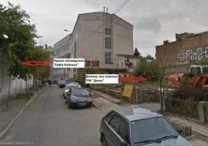 Суд - Софія Київська - будівництво
