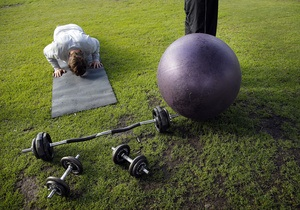 Тренування - масаж - крепатура