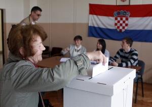 Хорватія - вибори - Європарламент