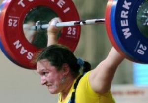 Тяжелая атлетика. Украинка завоевала бронзу на чемпионате Европы