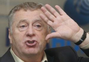 Жириновський пообіцяв сплатити штрафи Лимонова