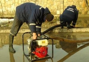 Паводок - вода - підтоплення - В Україні підтоплено 98 населених пунктів